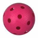 míček florbal IFF certifikovaný růžový