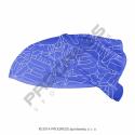čelenka Progress TR s gumičkou modrá