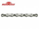 řetěz SunRace 10A 10k 116čl. stř/šedý