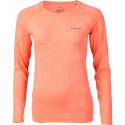 Dámské triko s dlouhým rukávem Head ANAFI oranžová vel.L