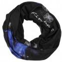 Finmark DĚTSKÝ MULTIFUNKČNÍ ŠÁTEK černá/modrá