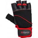 Kožené fitness rukavice Fitforce FERAL