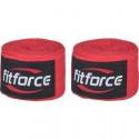 Bandáž Fitforce WRAPS 4,5M červená
