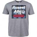 Pánské tričko Russell Athletic S/S CREWNECK TEE SHIRT šedé