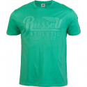 Pánské tričko Russell Athletic WING S/S CREWNECK TEE SHIRT zelená