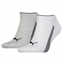 Ponožky Puma SNEAKERS 2P UNISEX šedá