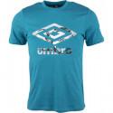 Pánské triko Umbro FW PHOTO GRAPHIC TEE modré