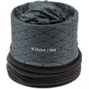 Multifunkční šátek s fleecem Finmark černý