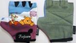 Rukavice dětské AMARA  medvídek Pooh vel.6