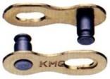 Spojka řetězu KMC 5.88mm 10 kolo sada